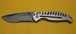Camillus EDC3 19166 AUS8 Pocket Knife Single Blade Carbonitride Titanium