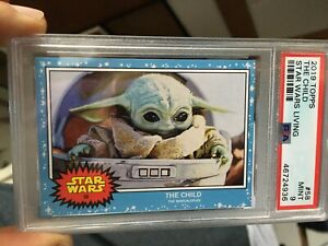 The Child The Mandalorian Topps Star Wars Living Set #58  PSA 9 Baby Yoda