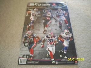 BRAND NEW! NFL BUFFALO BILLS 2010 VINTAGE 6 FATHEAD TEAMMATES WALL DECALS!