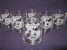 WISLA KRAKOW -szklanki do whisky i nie tylko  6 SZT.