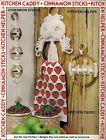 Kitchen Accessories Patterns - Craft Book: 7430 Macrame Go Round - Spoon Holder