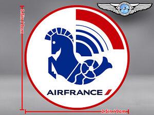 AIR FRANCE ROUND LOGO DECAL / STICKER