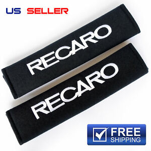 SHOULDER PADS SEAT BELT 2PCS FOR RECARO - US SELLER - FREE AND FAST SHIPPING S31