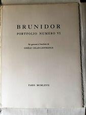 Celan, Diese freie grambeschleunigte Faust 1/40ex. 6 eau-fortes Brunidor 1967 RR