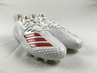 NEW adidas Freak X Carbon Low - White Cleats (Men's 13.5)