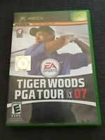 EA SPORTS TIGER WOODS PGA TOUR 07 - XBOX - WORKS ON 360 - MISSING MANUAL (E)