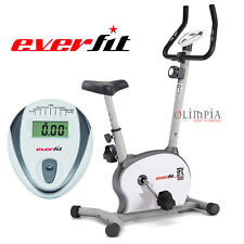 EVERFIT Cyclette Bike Magnetica BFK-500 - Portata 100KG con BATTITO CARDIACO