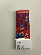 unused season hockey tickets Montreal Canadiens dec11