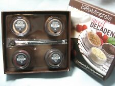 Bare Escentuals bare Minerals Sweet Decadence 4pc Eyecolors + Eye Brush $56 New