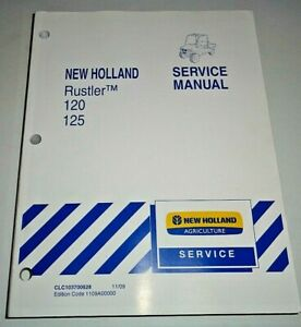 New Holland Rustler 120 125 UTV ATV Service Repair Shop Workshop Manual Original