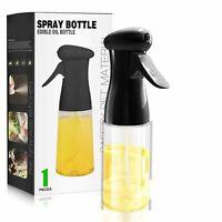 Olive Oil Sprayer Dispenser Cooking BBQ Vinegar Pump Kitchen Bottle Tools 210ML