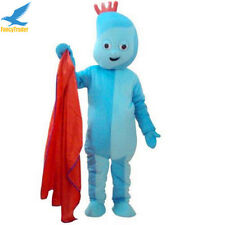 Halloween fancy dress outfits Cartoon Iggle Piggle Mascot Costume Actual Picture