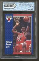 1991-92 Michael Jordan Fleer #29 Gem Mint 10 Chicago Bulls MVP HOF