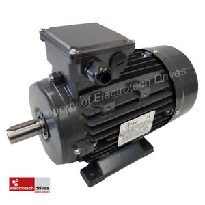 """0.75KW 1 HP Three (3) Phase Electric Motor 1400 RPM 4 Pole IE2 Efficiency NEW"""""""""""""""