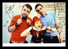 PARAMORE AUTOGRAPHED SIGNED & FRAMED PP POSTER PHOTO