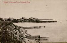 1907 Mouth of Barlow's River Shoreline Pocasset Massachusetts Ma Postcard B34