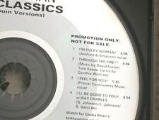 CHAKA KHAN Sampler WB Classics 4 trk 1990 Rufus I'm Every Woman