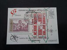 ESPAÑA SPAIN AÑO YEAR 1991 EDIFIL HOJA HB Nº 3109 (o) USADO USED - GRANADA 92