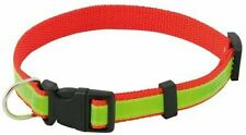 Reflective High Safety Visibility Adjustable Dog Strong Puppy Collar - It Glows