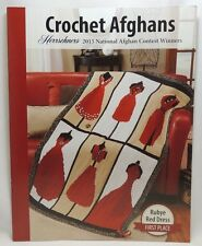 New Herrschners Crochet Afghans 2015 National Award Winners Pattern Book Rubye