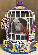NEW Little Live Pets Bird with Cage - Bella Rina? Needs New Batteries