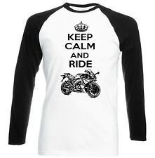 APRILIA SONIC GP 50 INSPIRED KEEP CALM P - COTTON TSHIRT - ALL SIZES IN STOCK