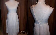 Hochzeitskleid Gr. S M 38 Hippie Boho Vintage Stil Naturhochzeit Spitze Kleid