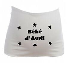 Bandeau Grossesse Maternité Bébé d'Avril - Femme Enceinte future maman