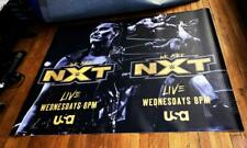 USA NETWORK WWE NXT TV 5FT SUBWAY POSTER  2019 WWE WRESTLING