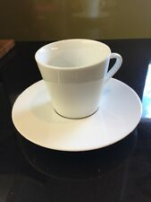 NESPRESSO RITUAL COLLECTION X 1 PORCELAIN ESPRESSO CUP And SAUCER SET SOLD OUT