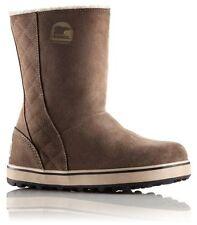 Sorel Snow, Winter Zip 100% Leather Boots for Women