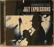 Essential Jazz Expressions 30 Trk Best Of 2CD Set Miles Davis John Coltrane VGC