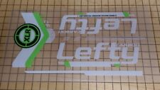 Sticker Decal Set for Cannondale 2014 F29 Team Lefty XLR 90 Carbon Fork