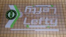 Aufkleber Decal Set für Cannondale 2014 F29 Team Lefty XLR 90 Carbon Gabel