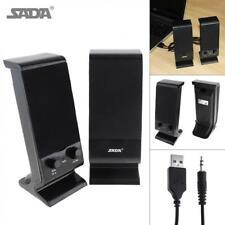 SADA V-112 Portabe Subwoofer Computer PC Speakers for Desktop PC Laptop Phone