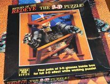 RETURN of the REDEYE 500 Piece 3D Puzzle Springbok / Hallmark