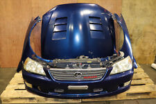 JDM Toyota Altezza RS200 Lexus IS300 Front End Bumper TRD Lip, Vented Hood, Hid