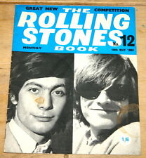 THE ROLLING STONES BOOK MONTHLY NUMBER 12 10TH MAY 1965 VINTAGE MAGAZINE