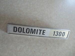 Original Triumph Dolomite 1300 car badge