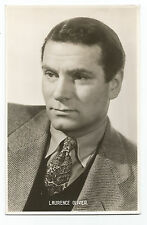 Card – Laurence Olivier - English actor films etc photo c1950's - excellent cond