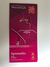 **LONDON 2012 OLYMPICS OLYMPIC GAMES GYMNASTICS OFFICIAL SPECTATOR GUIDE*