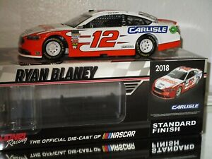 2018 Ryan Blaney #12 DEVILBISS CARLISE FORD 1/24 car#269/493 AWESOME RARE WOW