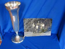 Sterling Golf Trophy Richard 'Dick' Sargent - Wykagyl Country Club 1954 & Photo
