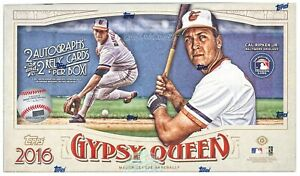 2016 Gypsy Queen Baseball Complete Your Set Pick 25 Cards From List