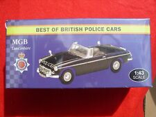 Atlas Editions MGB 'Best of British Police Cars' LANCASHIRE