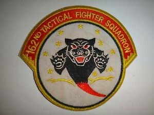 USAF 162nd TACTICAL FIGHTER SQUADRON Patch