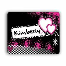 Hearts Personalized Computer Mouse Pad for Home and Office Size