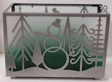 Yankee Candle Winter Wonderment Snowman Christmas Tree Multi Tealight Holder