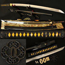 Hand Forged Japanese Samurai Sword Katana Full Tang High Carbon Steel Very Sharp
