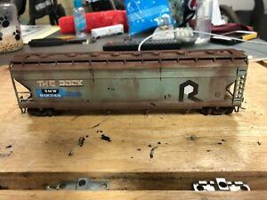 Bachmann ho custom done covered hopper,SMW #812345